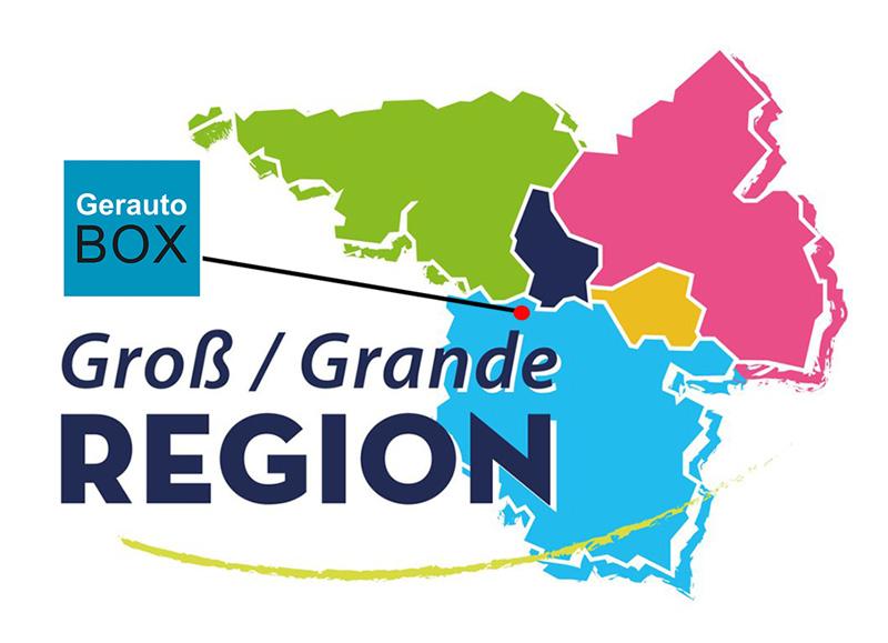 Gerautobox : au centre de la Grande Région